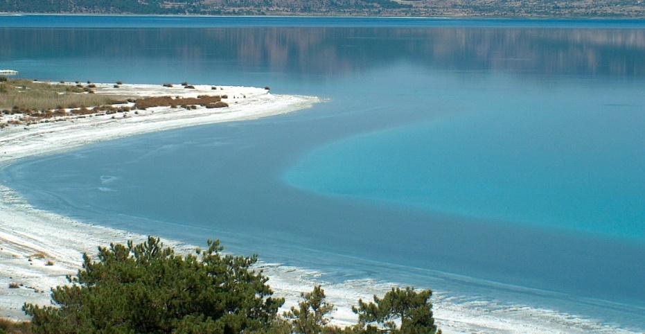 Burdur Gölü'nün Muazzam Güzelliği