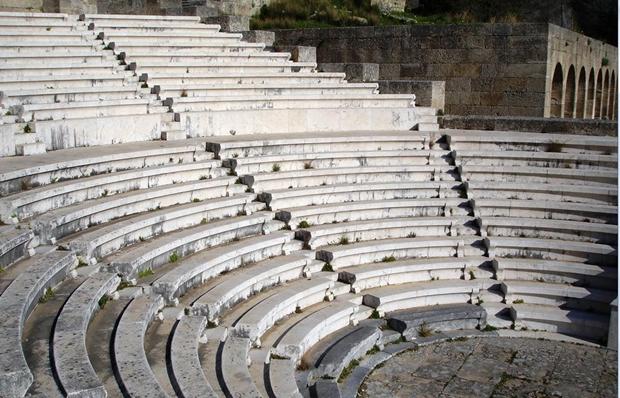 Rodos Akropolis – Apollon Tapınağı