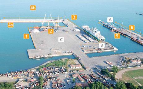 Tekirdağ Akport Gümrük Limanı