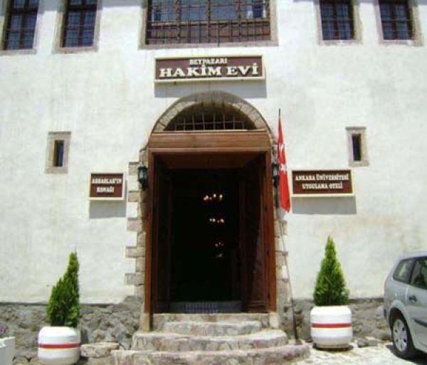 Beypazarı Hakim Evi MYO Uygulama Oteli