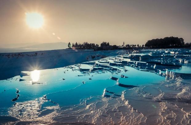 Pamukkale Şifalı Suları