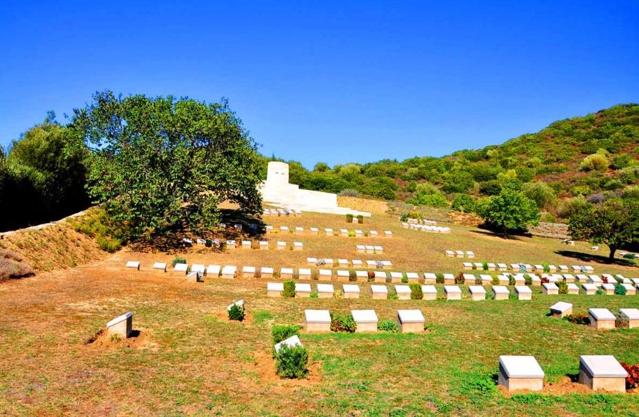 Şarapnel Vadisi   Çanakkale